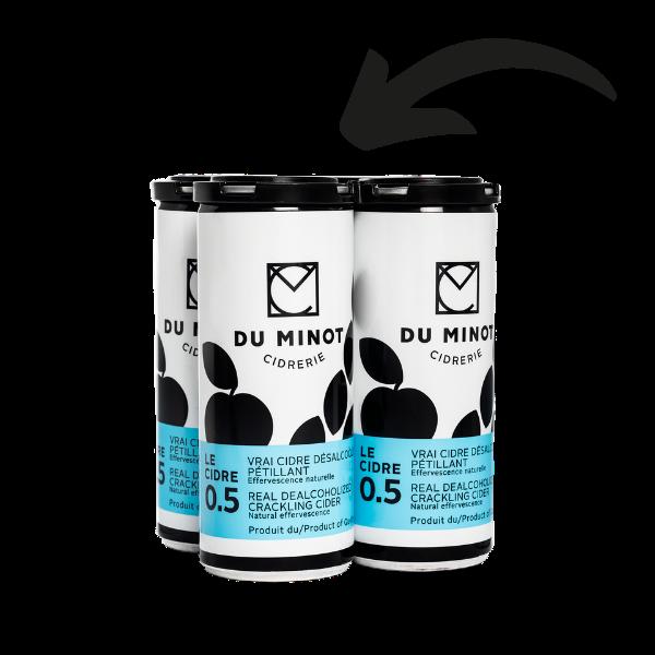 Prêts-à-boire, Le Cidre 0.5. 250ml.